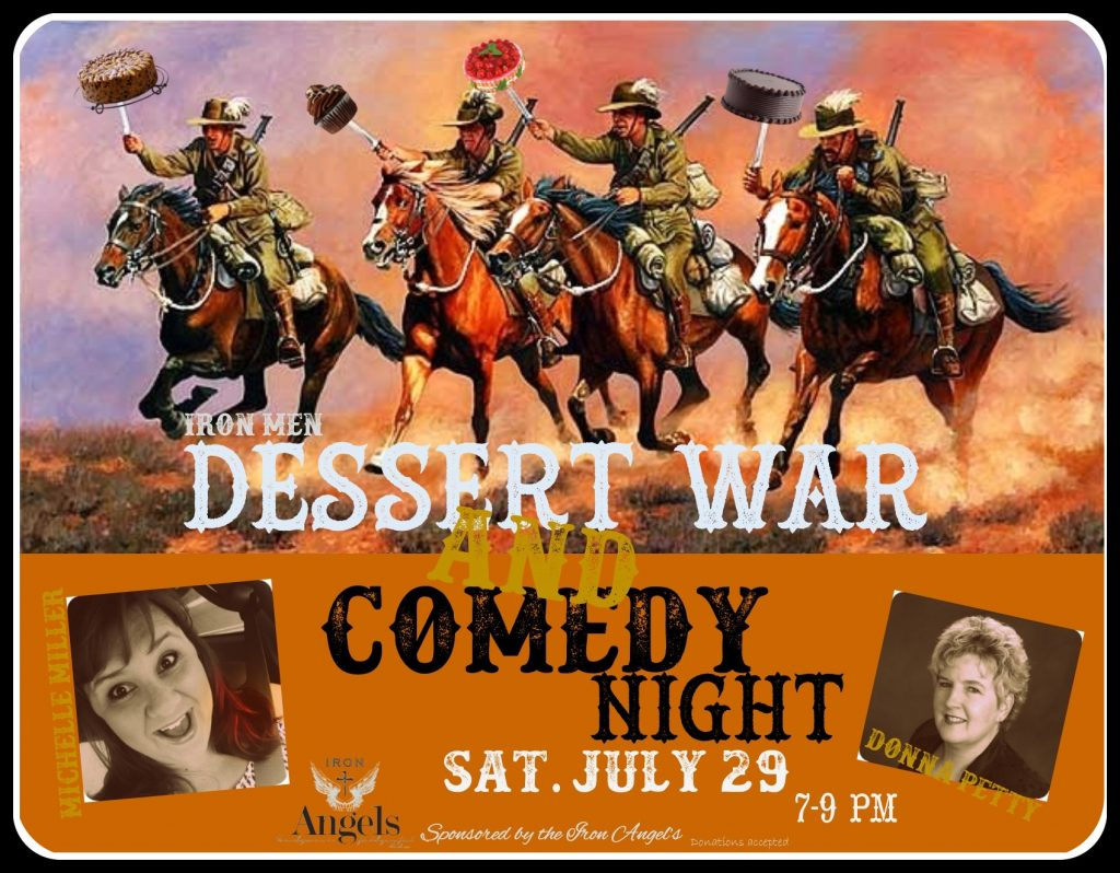 Dessert War Comedy Night! @ Freedom Biker Church | Fayetteville | North Carolina | United States