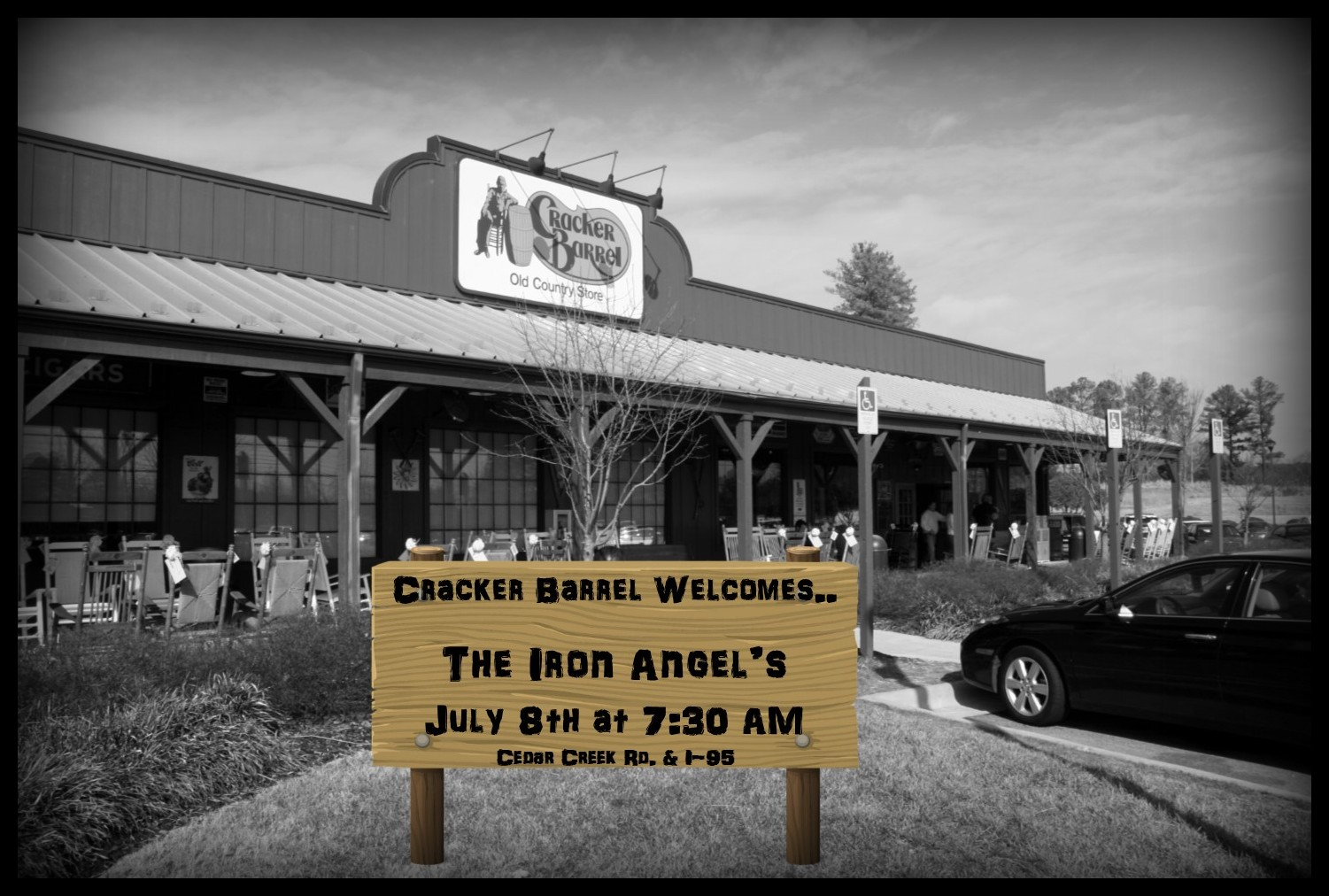 Iron Angel's Breakfast Outing! @ Cracker Barrel | Fayetteville | North Carolina | United States