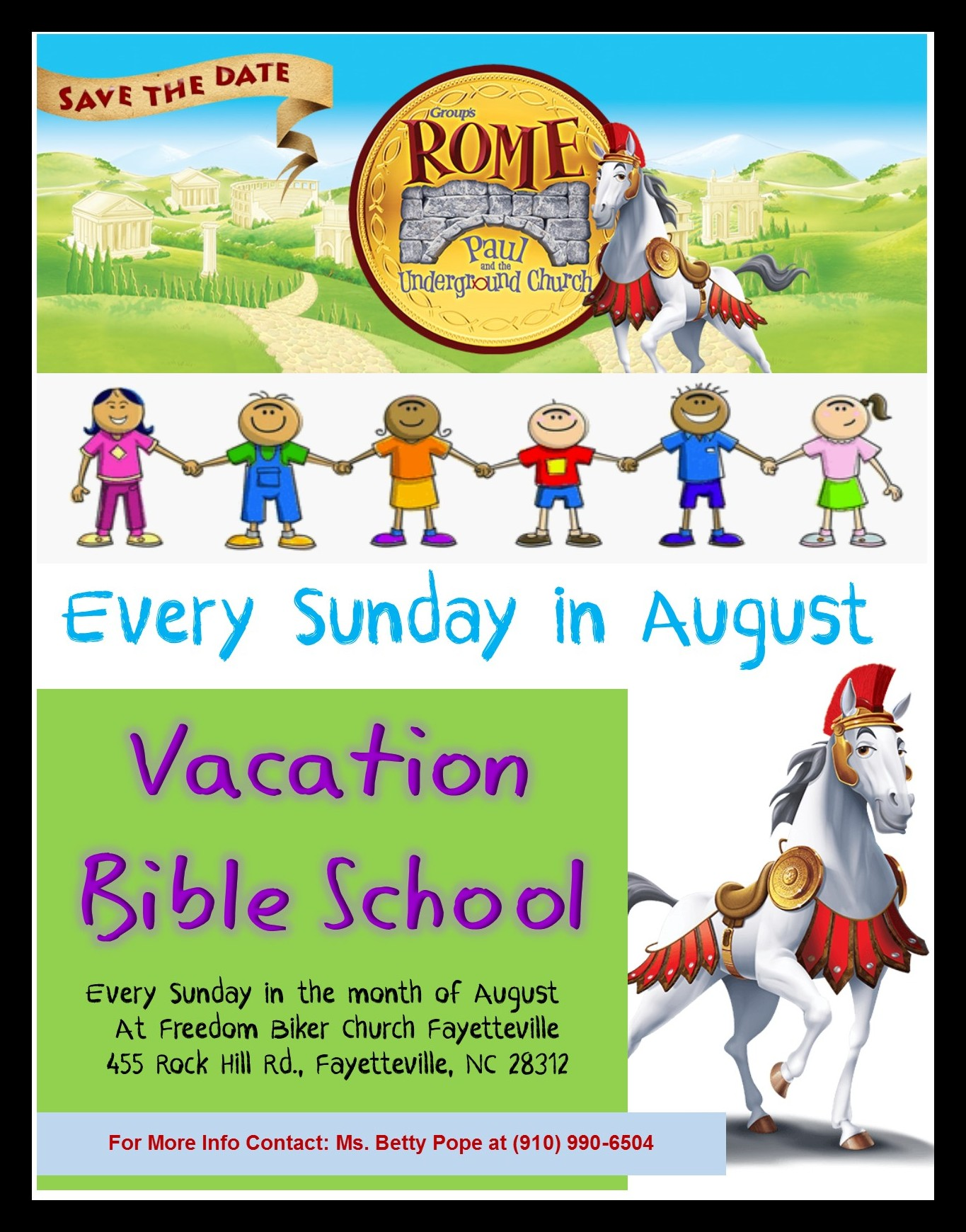 Vacation Bible School at FBCF @ FREEDOM BIKER CHURCH FAYETTEVILLE | Fayetteville | North Carolina | United States
