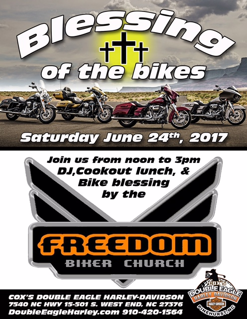 FBCF Blessing of the Bikes at Cox's Double Eagle HD @ Cox's Double Eagle Harley Davidson | West End | North Carolina | United States
