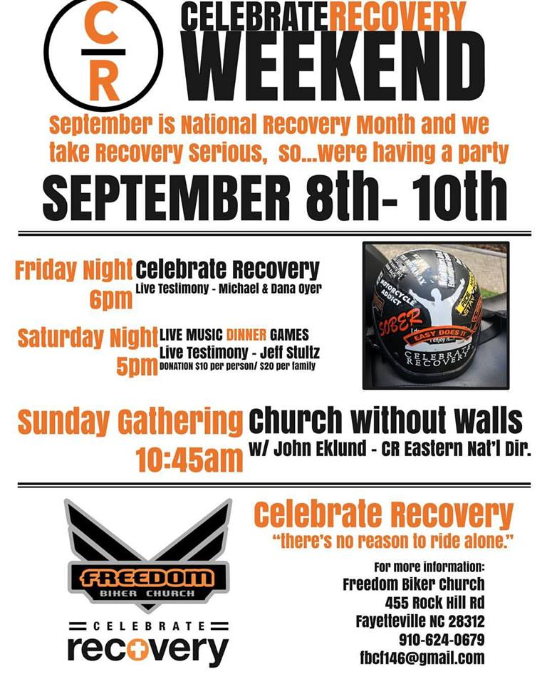 Celebrate Recovery Week-End