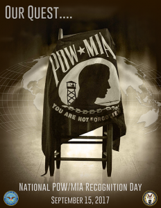 National POW/MIA Recognition Day 2017 in United States of America
