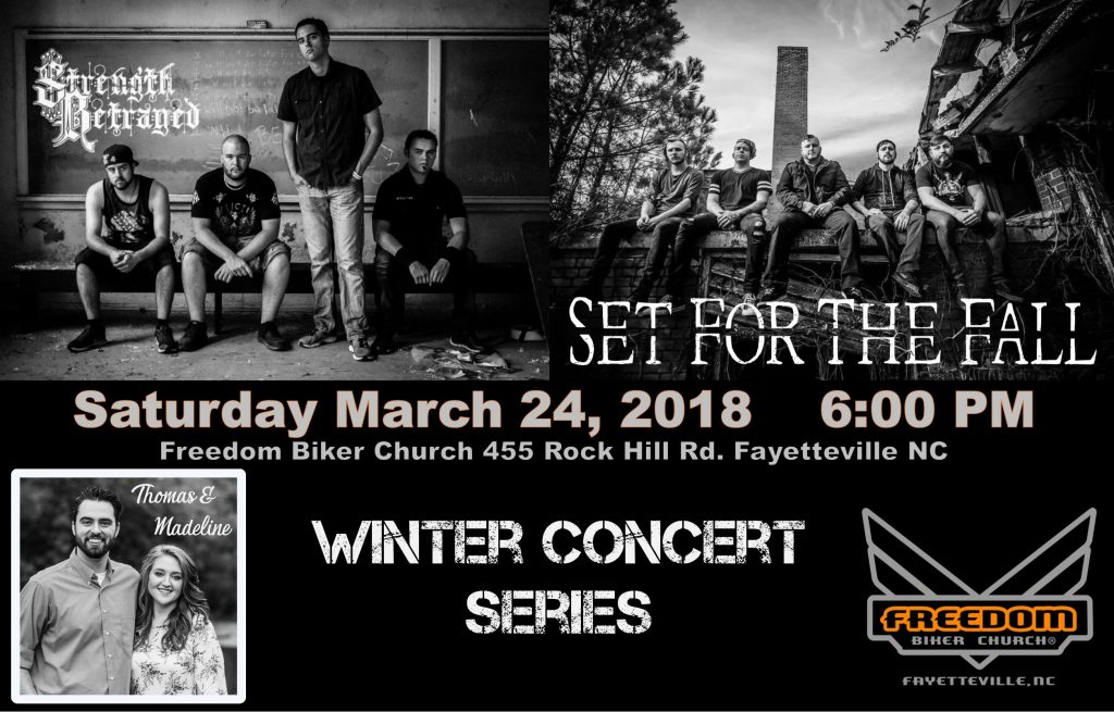 "FBCF ""WINTER CONCERT SERIES"" @ Freedom Biker Church Fayetteville 